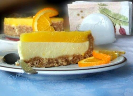 Orange cheesecake   Dream Bakery   Pinterest   Cheesecake, Cus D'amato ...
