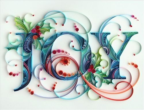 "quilling...found this and pinned for you my friend...I know you are repining the ""Joy"" stuff! So hope you like it, Joy! :)"