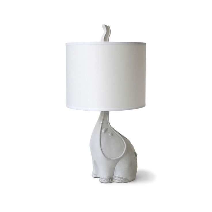 Handcrafted in Peru from high-fired stoneware or porcelain, the Jonathan Adler Utopia Elephant Table Lamp is a versatile accent that suits a wide array of schemes. Available exclusively at Coco Republic. #CocoRepublic #JonathanAdler #Lamp #HomeDecor #Elephant #Accents