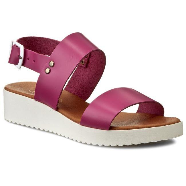 Sandály LANQIER - 36C989 Růžová