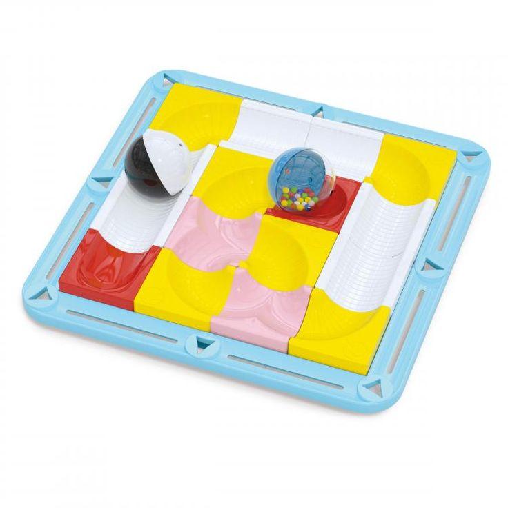Laby - Pista labirinto a dondolo - primi giochi, piste per biglie - 6500| Quercetti