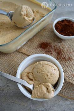 Helado de café sin máquina www.pizcadesabor.com