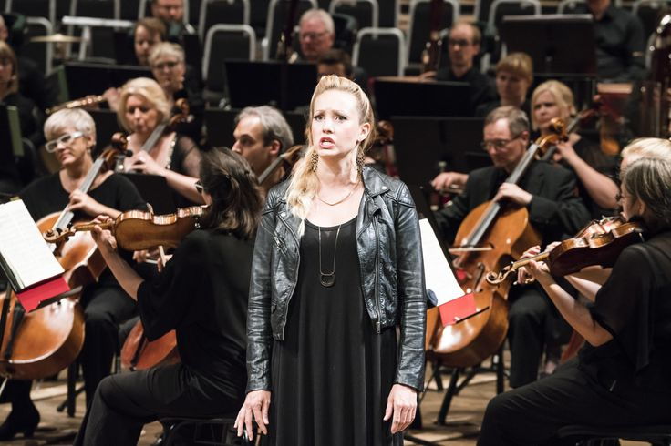 Erin Wall   Peter Grimes Erin Wall stars as Ellen Orford in a concert performance of Peter Grimes at the 2017 International Festival. Image © Thor Brødreskift