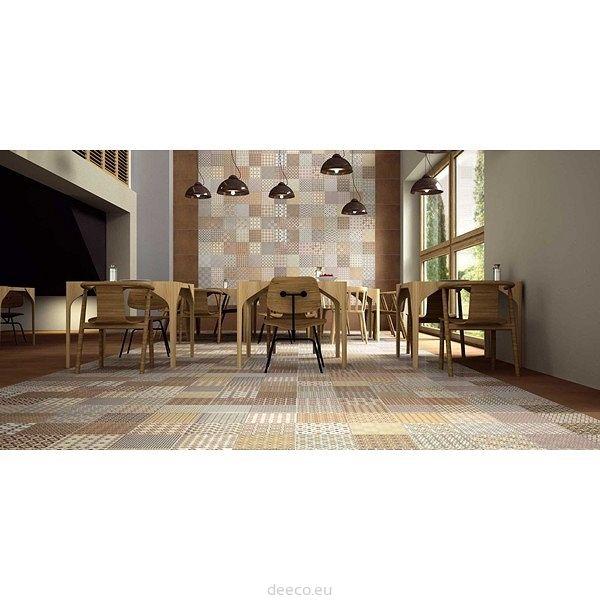 Płytka ceramiczna Realonda Collage Crema 45x45 cm