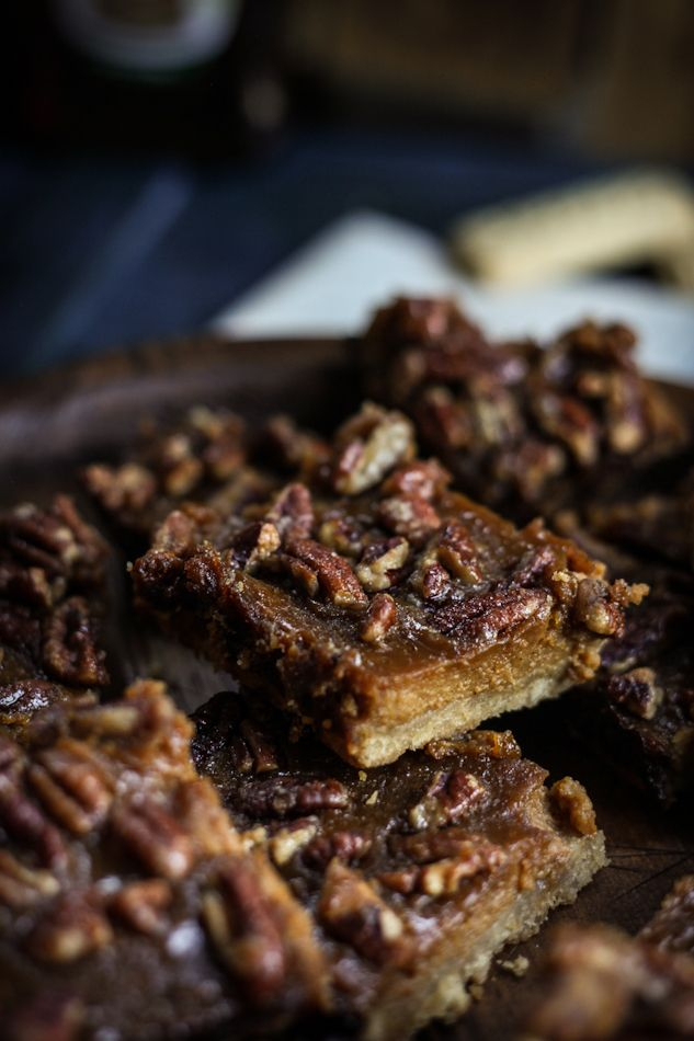 Maple, Pecan, & Butternut Shortbread Bars