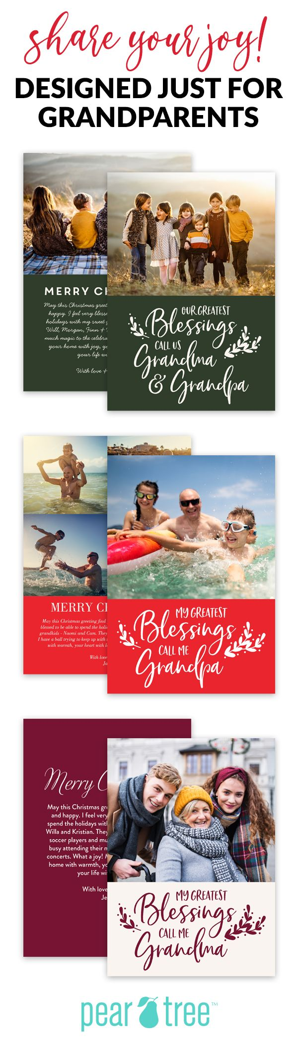 Happyt Holidays Christmas Cards 2021 Trifold Thoughts Heart Grandparents Christmas Cards Grandparents Christmas Christmas Cards Grandparents Card