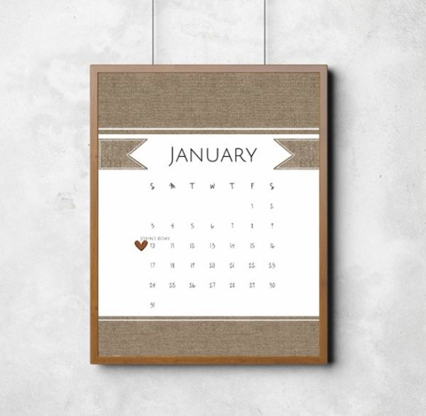12 best Free Printable Calendars images on Pinterest Free