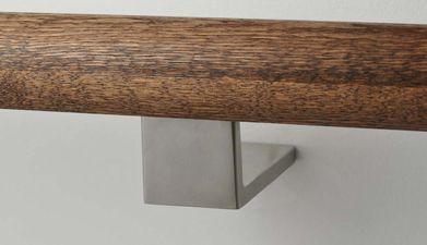 handrail, handrail brackets, modern handrail brackets, contemporary handrail brackets, stair brackets, glass clips, rail, handrail, guardrail brackets, stainless steel stair fittings, architectural hardware, modern stair brackets