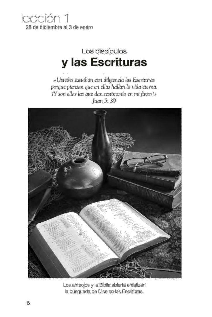 Aunque en el Perú ya no se distribuya físicamente la leccion de Escuela Sabatica para jóvenes aqui se lo ofrecemos en formato digital pdf. Descarga aqui: http://gramadal.wordpress.com/