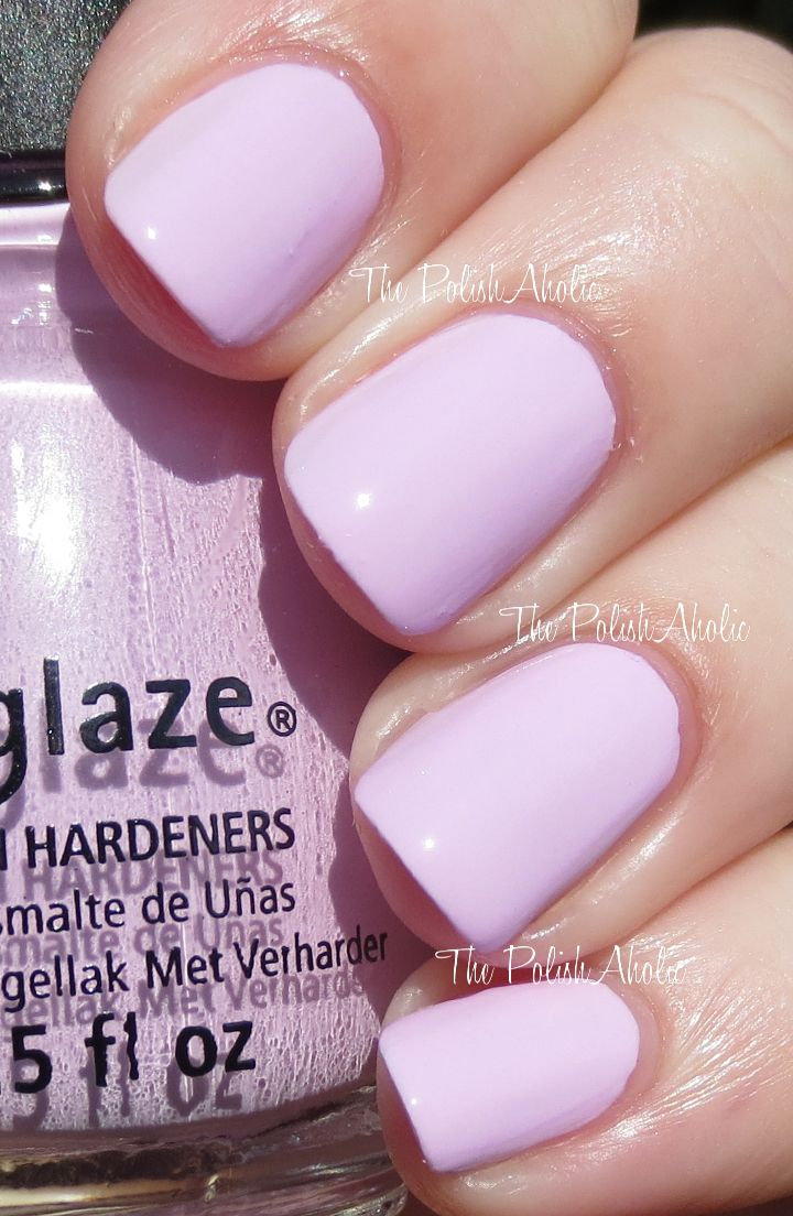 China Glaze - In A Lilly Bit (City Flourish Collection Spring 2014) / ThePolishAholic