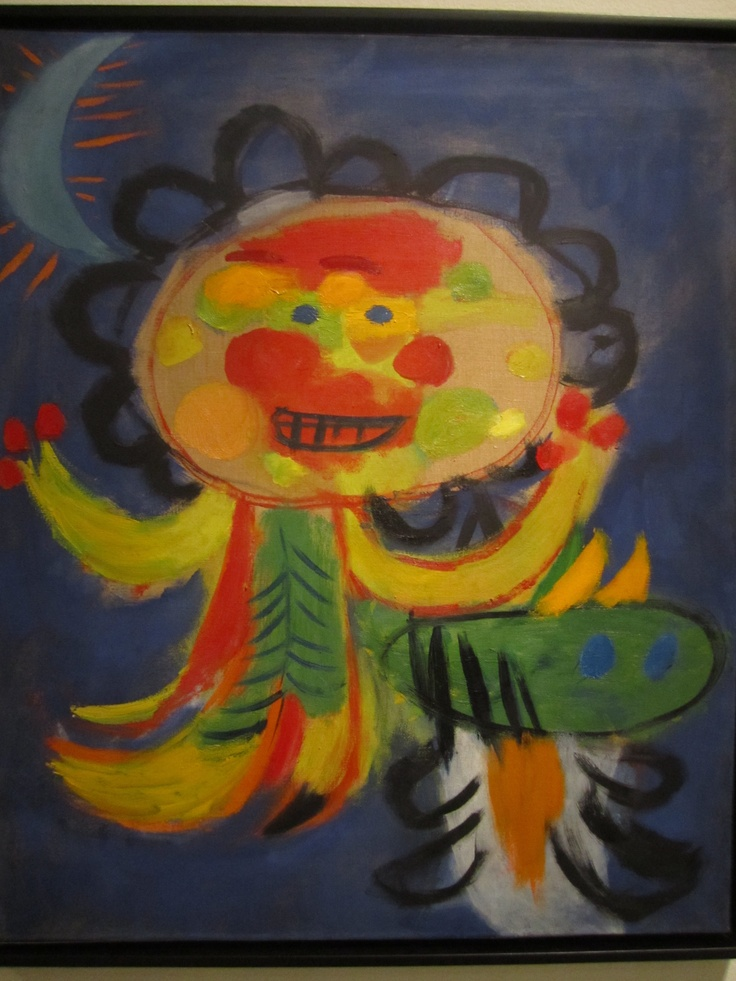 Painting by Karel Appel