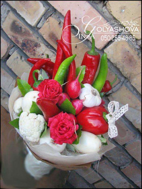 (14) Gallery.ru / Фото #46 - Букеты из овощей и фруктов - nekto1