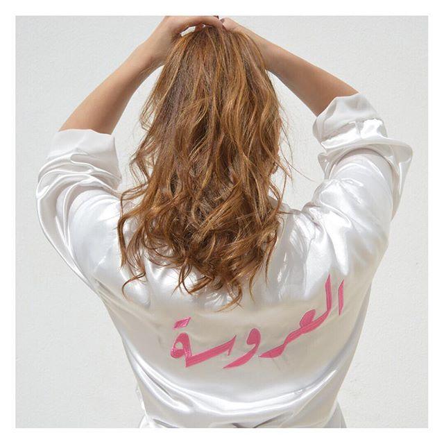 من أكثر منتجاتنا مبيعا هي الأرواب الساتان المخصصة متوفرة باللون الأبيض وجصريا باللون الوردي الفاتح لطلب هذا المنتج اضغطي T Shirts For Women Fashion Women