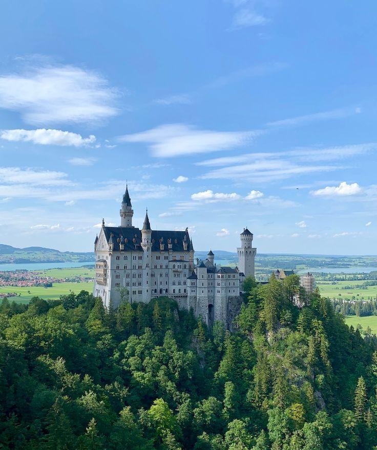 Mein Gluck Im Juli Heimkommen Schloss Neuschwanstein Und Der Sommerhimmel Uber Mir Texterella Neuschwanstein Schloss Neuschwanstein Reisen