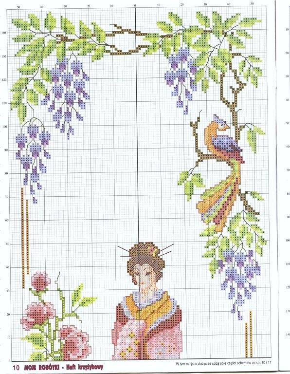 Geisha in Gardens 1/2