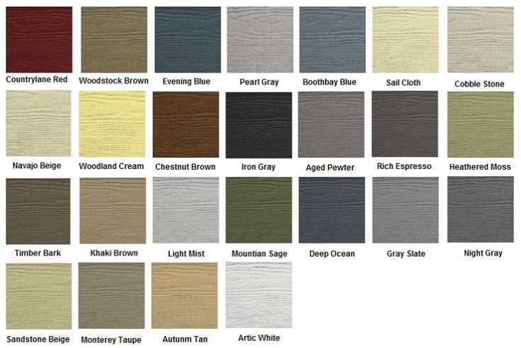Hardie Board Siding Colors Exterior Inspirations In 2019