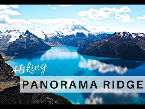 HIKING PANORAMA RIDGE | Grizzly Bears, Exploring The Mountains & The Mos...