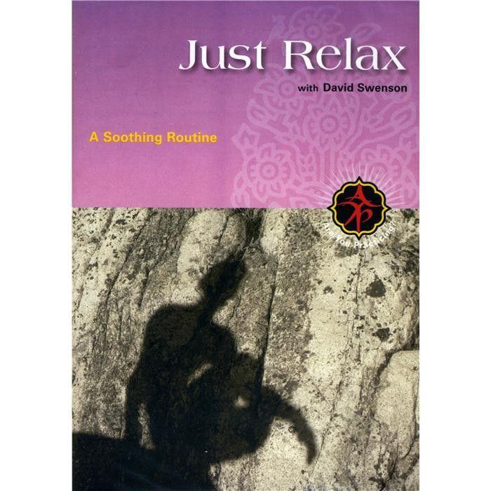 DVD: Just Relax - David Swenson fra Komplettyoga. Om denne nettbutikken: http://nettbutikknytt.no/komplettyoga-no/