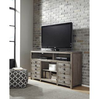 70-inch Urban Blend Wood TV Stand | Overstock.com Shopping - The Best Deals on Entertainment Centers