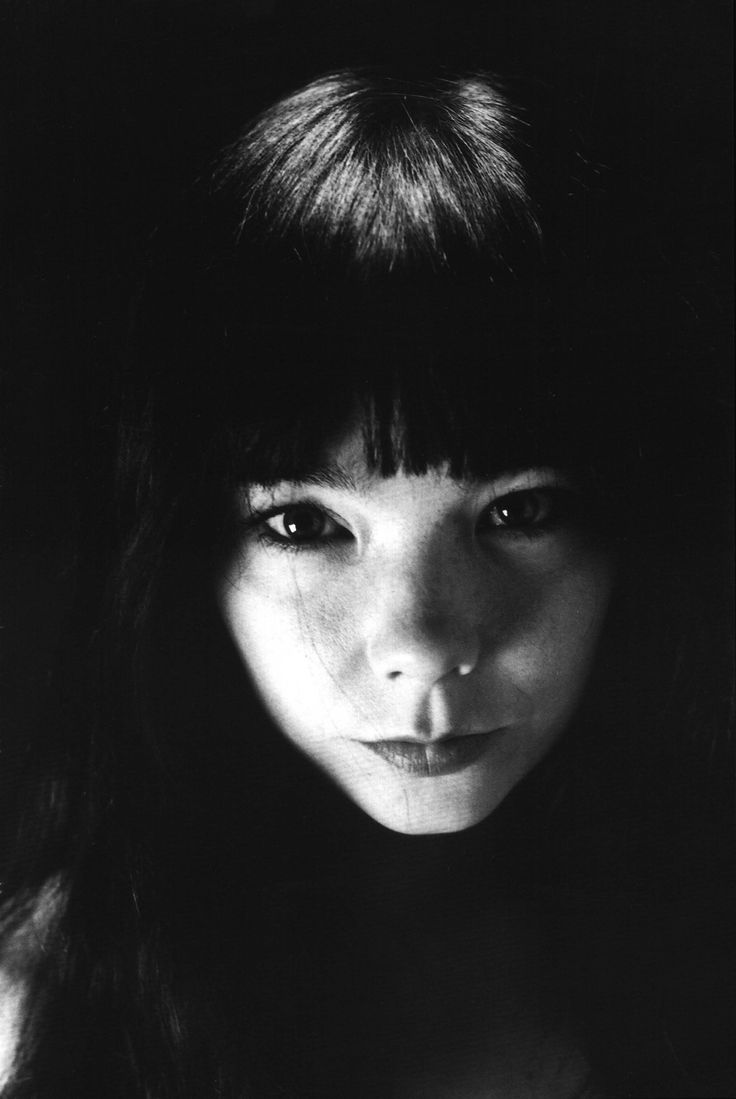 Bjork, 1996. Photo: Nobuyoshi Araki. True story: I was at Puerto Rico Coffee on Thompson street in NYC... I heard this woman talking to her daughter behind me on line... the conversation was about her daughters modern dance class, I turned around and saw Bjork, I smiled then swept my bangs, and she did the same... we shared a bang moment!!! I didn't fan out... and kept cool... That's my Bjork story!