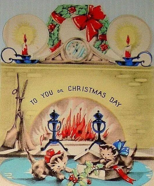 3744 Best VINTAGE GREETINGS CHRISTMAS Images On