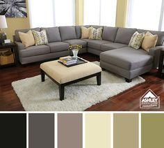 Yellow & Gray Living Room Coming Soon - We Like!