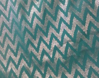 Check out Jade Chevron fabric by the yard, Teal Fabric, Bridesmaid Dress Fabric Party Dress Fabric, Chiffon fabric, one of kind fabric for wedding on blingscarves