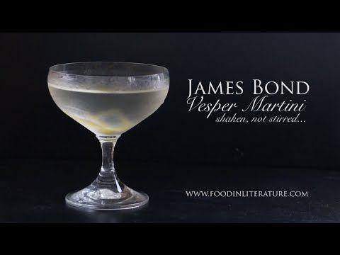 James Bond Vesper Martini recipe | Food in Literature