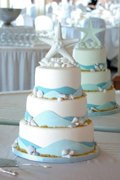 Beach Wedding Cake | La Beℓℓe ℳystère