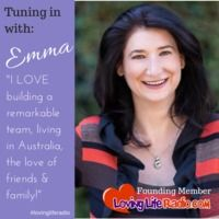 How often are you learning? How often are you turning your learning into action?  Deb chats with Entrepreneur, Author and Learning Transfer Specialist Emma Weber about how we can use learning to love our life even more!  For more information about Emma, Coaching and Learning Transfer: leverlearning.com/  www.lovingliferadio.com