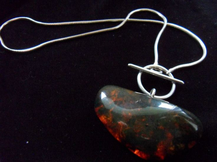 Handcrafted Amber necklace by Chasing Destiny Silver