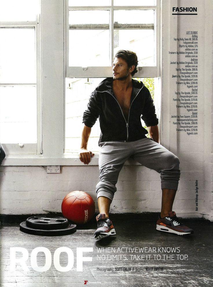 Fitness First Magazine March / April 2014 Photography - Scott Ehler Stylist - Kelly Smythe  Model - Daniel Garofali