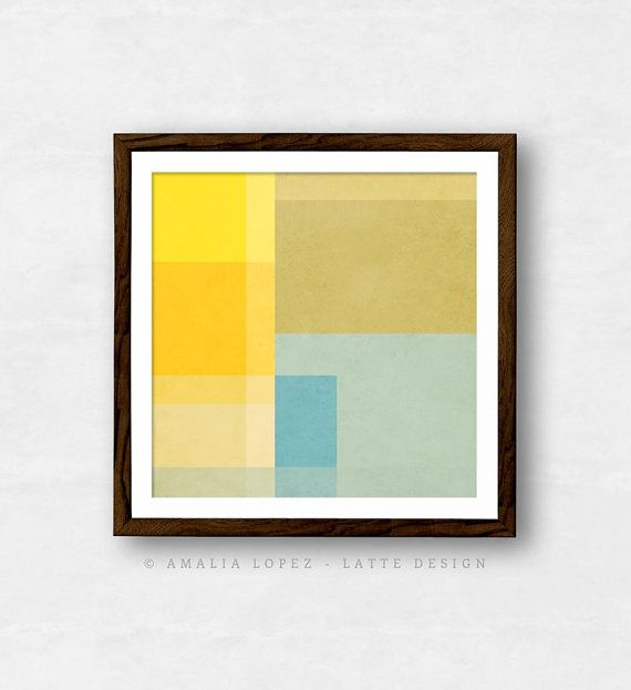 Abstract 2. Abstract Geometric art geometric print by LatteDesign