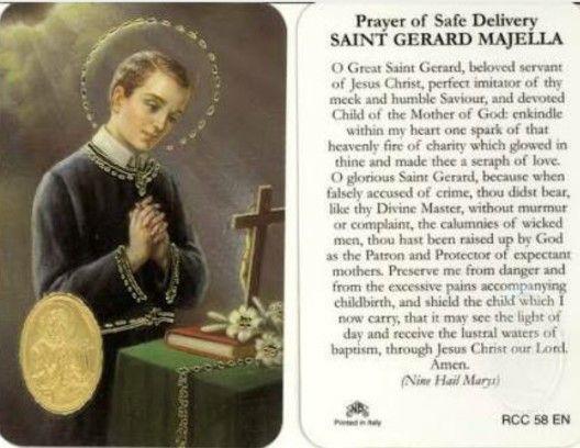 Prayer for Safe Delivery