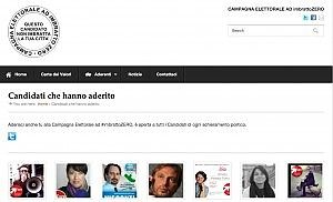 """""""Chi sporca la città non merita il voto"""" parte la campagna elettorale a #imbrattozero - Roma - Repubblica.it"""