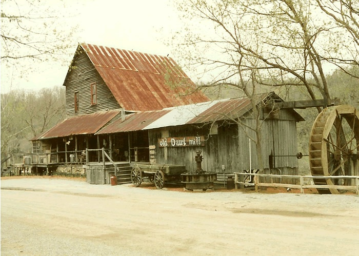 Dawt Mill, Southern Missouri on the North Fork of the White River