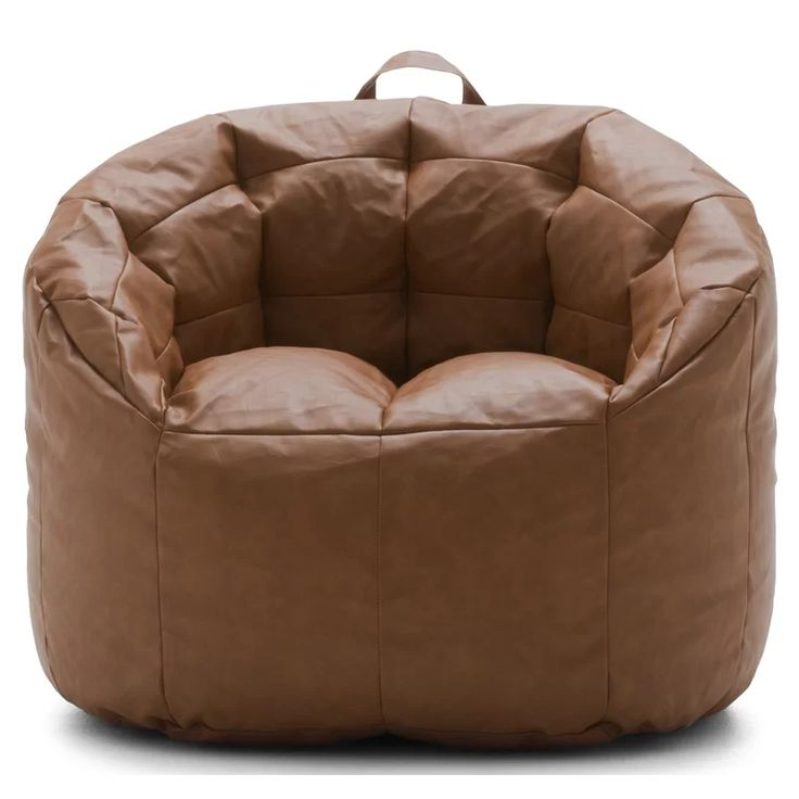 luxury leather bean bag chairs
