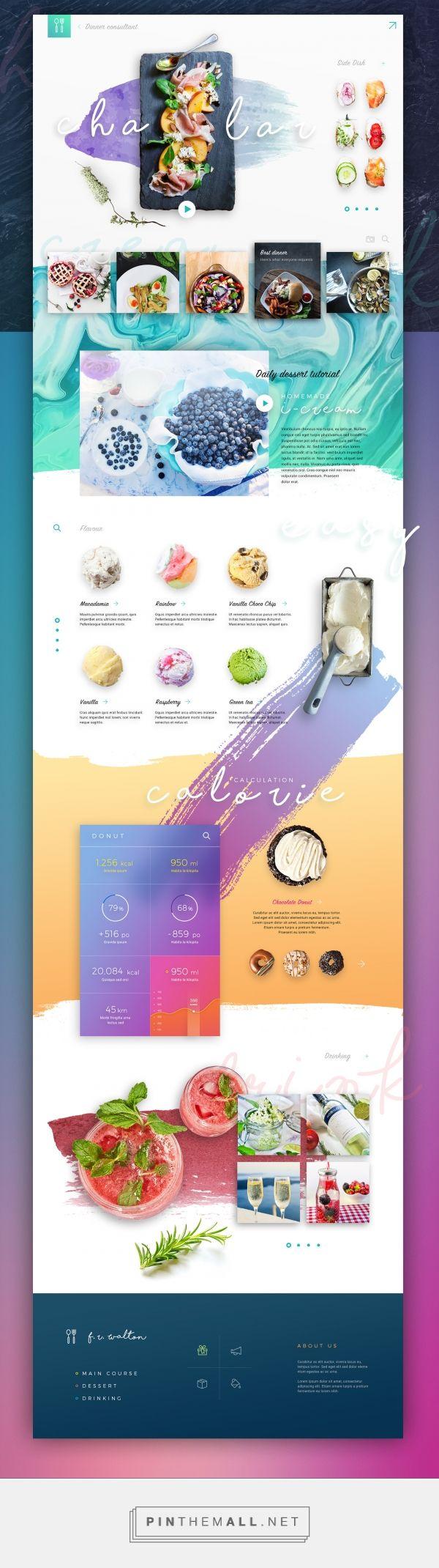 Chalar Restaurant Web Design Inspiration by Tintin S. | Fivestar Branding – Design and Branding Agency & Inspiration Gallery