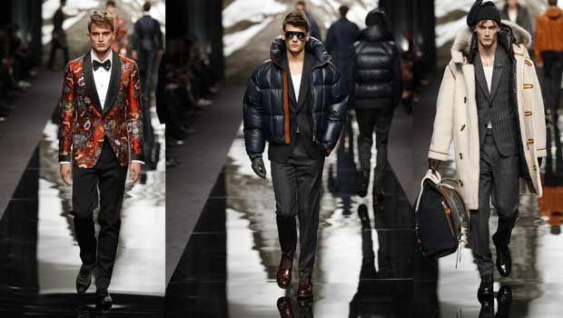 Louis Vuitton 2013-2014 Sonbahar Kış Erkek Koleksiyonu (Paris Moda Haftası)