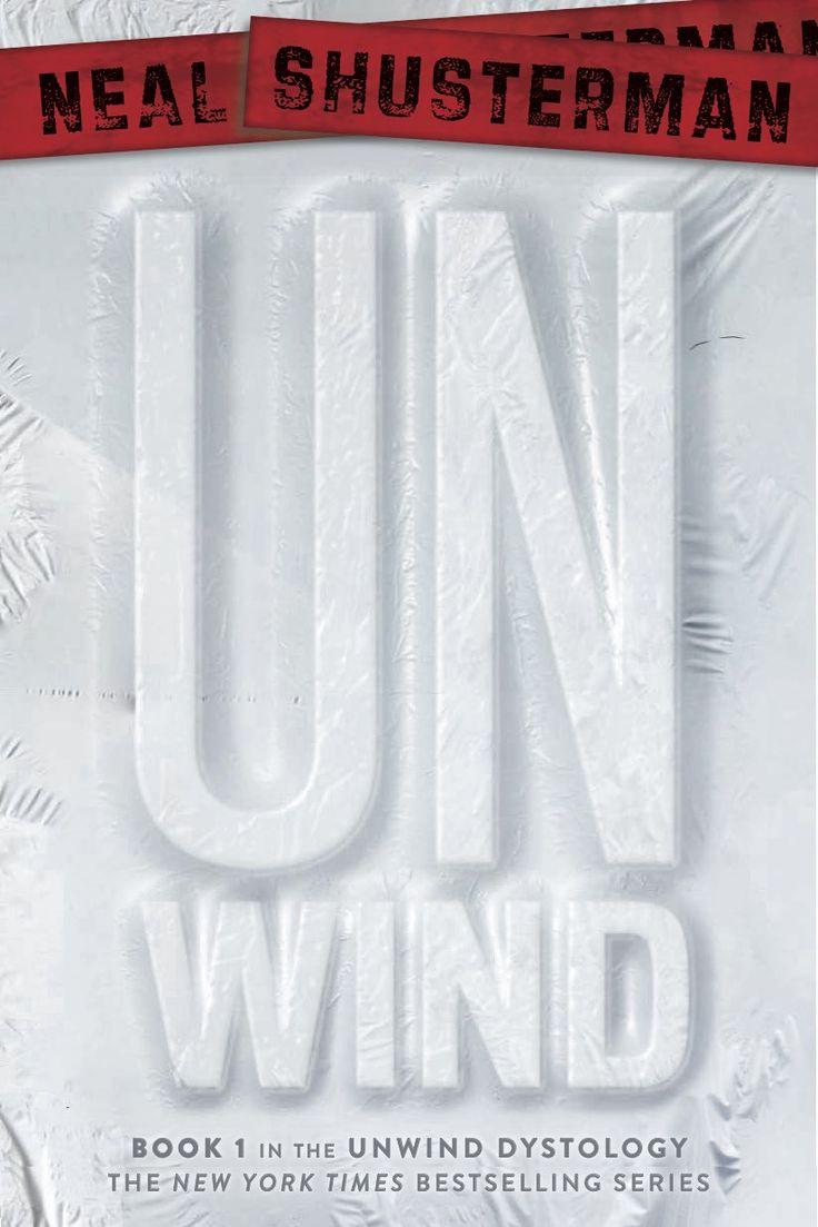 Unwind - Neal Shusterman, redesign: