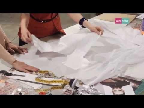 ▶ Come fare un vestito senza cartamodello - I tutorial di Re-fashion - YouTube