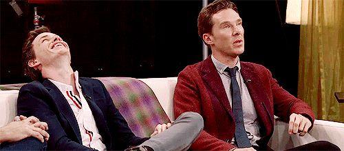 Benedict Cumberbatch & Eddie Redmayne