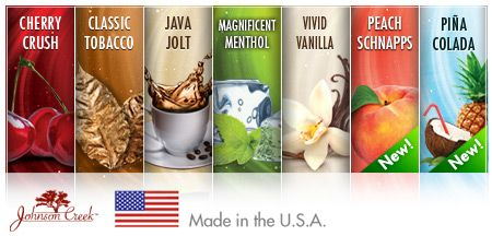 blu cigs flavors are MADE IN THE USA. manufactured in wisconsin just for blu electronic cigarettes!
