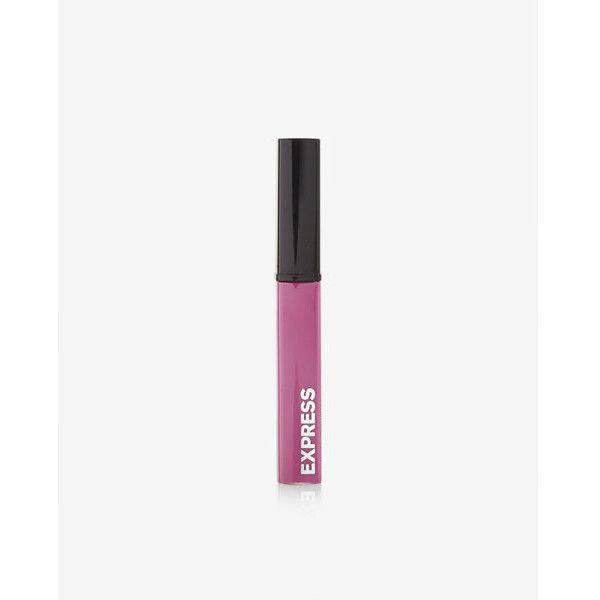 Express Lip Gloss (25 BRL) ❤ liked on Polyvore featuring beauty products, makeup, lip makeup, lip gloss, purple, shiny lip gloss, lip gloss makeup, express lip gloss, lip shine and glossier lip gloss