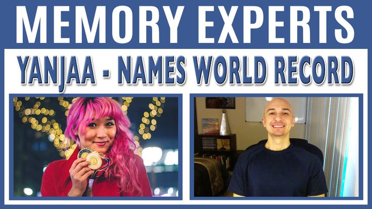 Yanjaa – Names World Record Holder | Memory Experts with Luis Angel