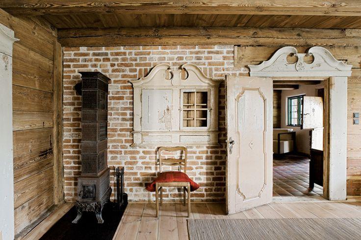Salvinia lodge house in u awy poland folk poland pinterest country lodges and houses - Traditional polish houses wood mastership ...