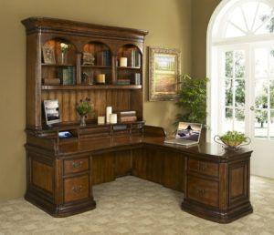 Double Pedestal Home Office Desk