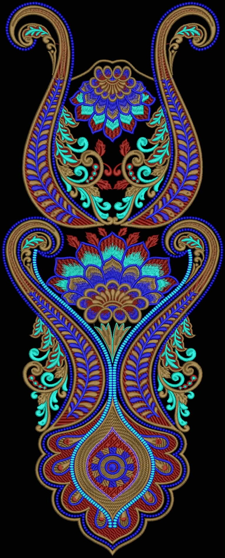 Latest Embroidery Designs For Sale, If U Want Embroidery Designs Plz Contact (Khalid Mahmood, +92-300-9406667)  www.embroiderydesignss.blogspot.com  Design# Ruksa8