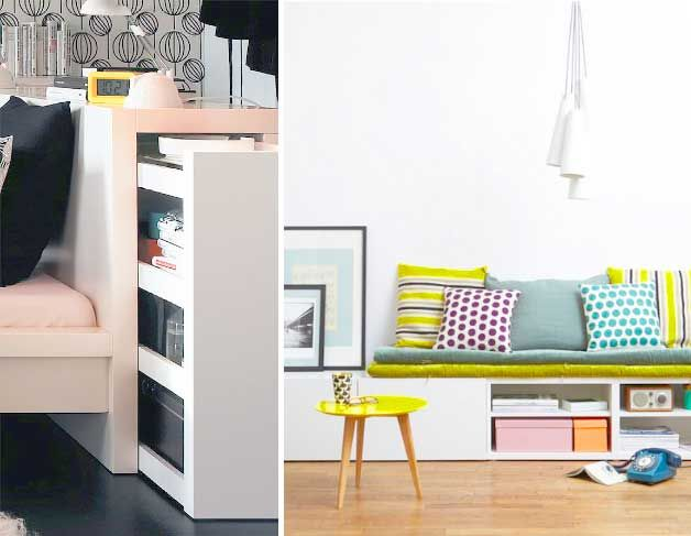 Space Saving Ideas For Storage In The Living Room | Http://www. Part 28