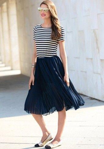 Šaty s efektom 2 v 1 #ModinoSK #modino_sk #modino_style #style  #fashion #spring #summer #dress